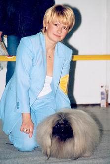 Елене Курбанова - один из лучших хендлеров России