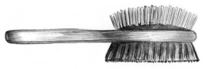 Массажная щетка для пекинеса